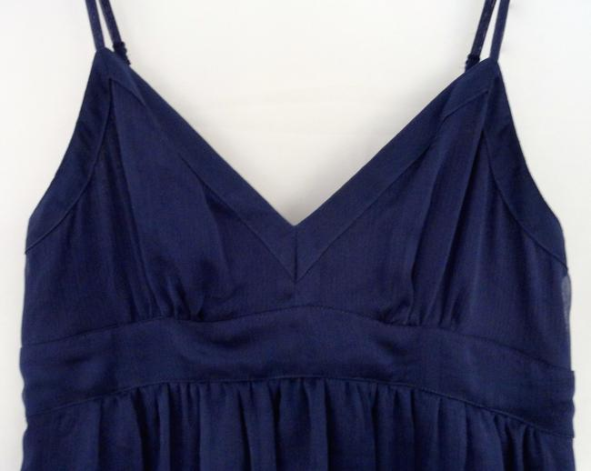 American Eagle Outfitters short dress Navy blue Flowy Sundress Sleeveless Staps on Tradesy