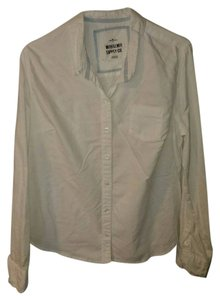 Mossimo Supply Co. Button Down Shirt White