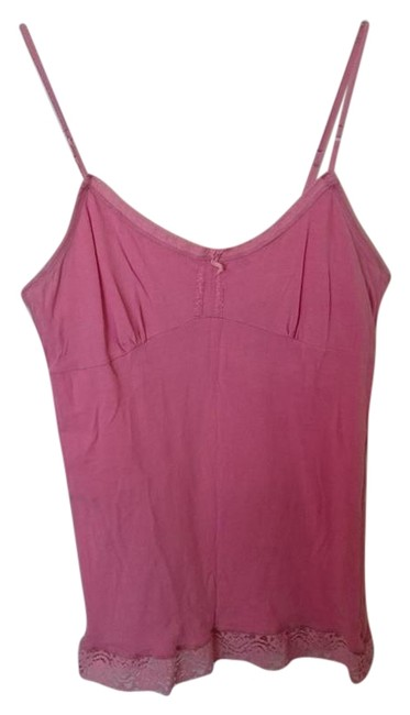 American Eagle Outfitters Shelf Bra Top Pink