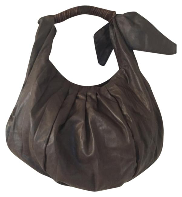 Item - Taupe Brown Man Made Shoulder Bag