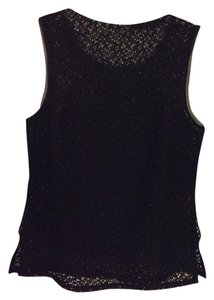 Trina Turk Lace Top Black