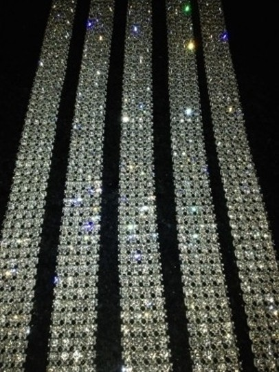Silver ***price Lowered*** Bling 4 Or 24 Row Crystal Rh Other