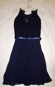 B2 Navy Blue Dress