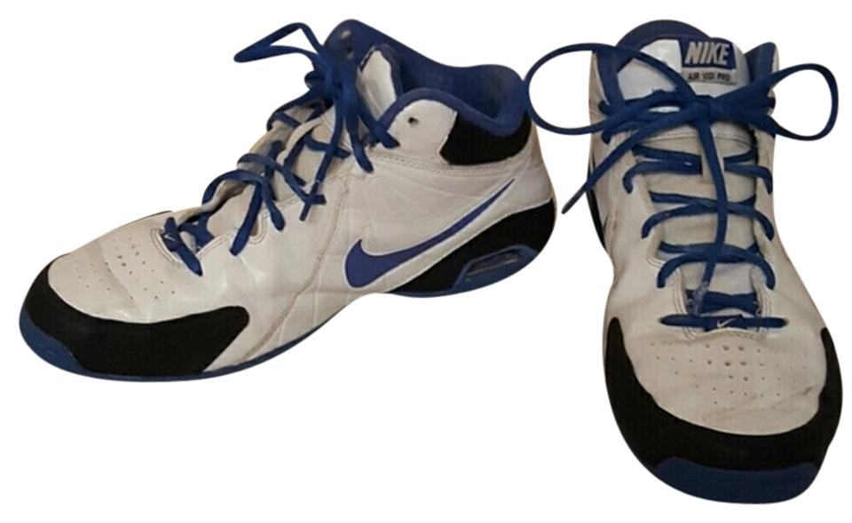 Nike White and Blue Air Visi Pro Basketball Sneakers Size US 7.5 Regular (M, B) 62% off retail