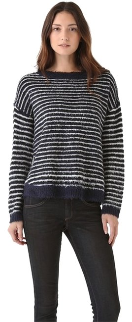 Preload https://item4.tradesy.com/images/theory-navy-and-white-koll-s-yeda-striped-sweaterpullover-size-0-xs-4596313-0-0.jpg?width=400&height=650