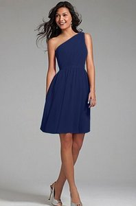 Alfred Angelo Navy 7243s Dress