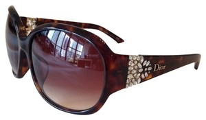 Dior NEW! Dior Delicacy Crystal Tortoise Sunglasses