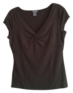 Ann Taylor T Shirt Dark Brown