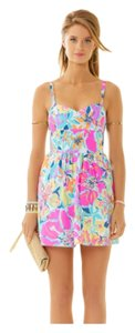 Lilly Pulitzer short dress Multi Besame Mucho on Tradesy