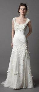 Watters Ivory Other Vanessa Vintage Wedding Dress Size 8 (M)