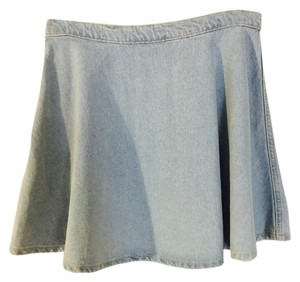 American Apparel Mini Skirt denim