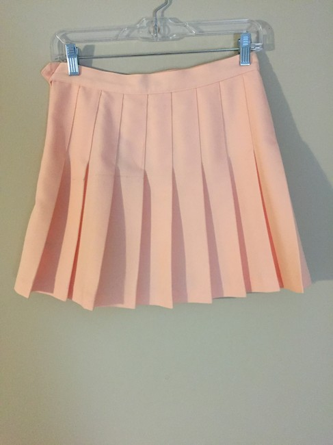 American Apparel Tennis Tennis Mini Skirt pink