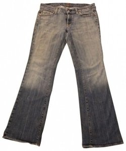 Seven for All Mankind Flare Leg Jeans-Medium Wash