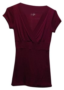 INC International Concepts Top Maroon