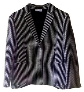 Akris Punto black and white Blazer