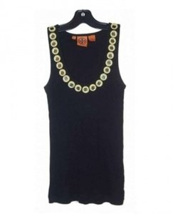 Tory Burch Embellished Top Black