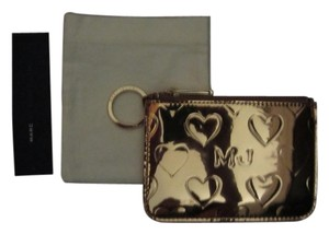 Marc by Marc Jacobs Mirrored Gold Coin Pouch Wallet