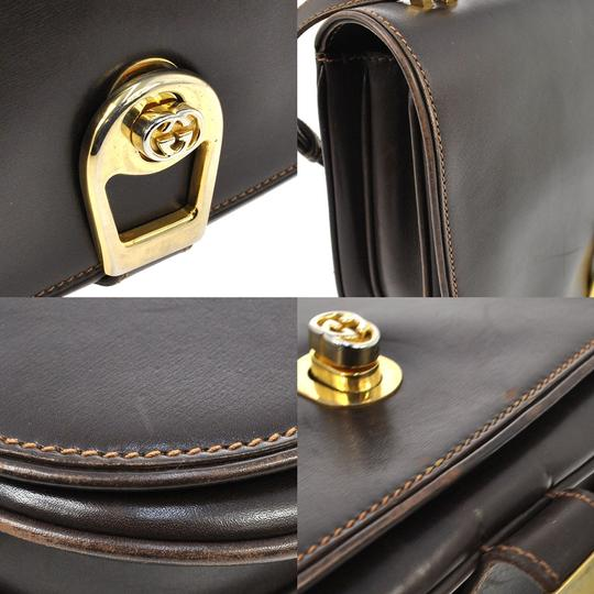 Gucci Vintage Gg Logo Leather Jit3287168j Shoulder Bag