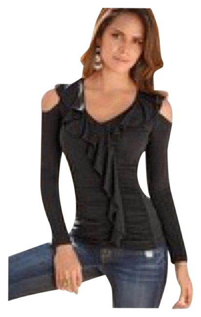 Preload https://item1.tradesy.com/images/boston-proper-black-ruffle-front-cold-shoulder-night-out-top-size-10-m-4617250-0-2.jpg?width=400&height=650