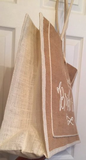Other Burlap Wedding Nwot Wedding Tote in Large Bride to Be