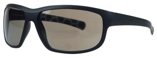 PORSCHE DESIGN Porsche Black Rectangular Sunglasses