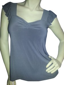 Susan Lawrence Top Gray
