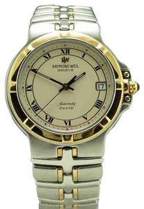 Raymond Weil Raymond Weil Parsifal SS/18K Gold Caps 36mm Swiss Automatic Two Tone Bracelet Watch Ref. 2890