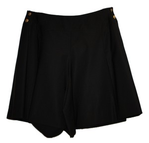 Chanel Vintage Classic Exclusive Shorts Black Chintz