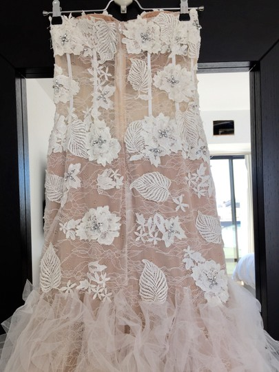 Jovani Off White Ivory Wedding Dress Size 4 (S)