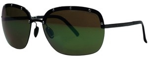 PORSCHE DESIGN Porsche Ruthenium Square Sunglasses