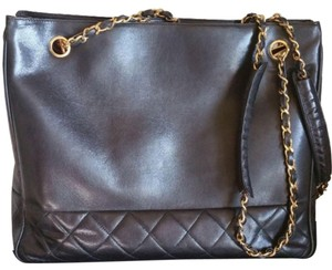 Chanel Small Tote in Black
