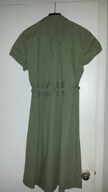 Mlle Gabrielle short dress Khaki, army green, olive Military Style on Tradesy