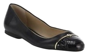 Tory Burch Snake Embossed Logo Britten Brody Ella Fleming Marion Robinson Thea York Minnie Reva Miller Black Flats