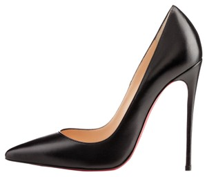Christian Louboutin So Kate Leather Leather Black Pumps