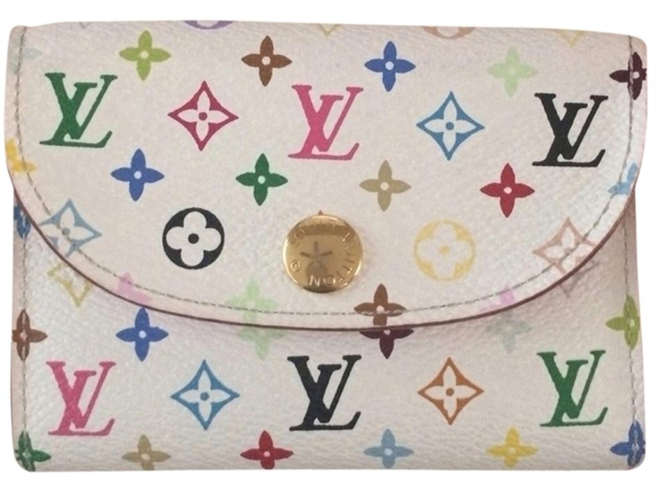 Louis vuitton multicolor business card holder wallet tradesy louis vuitton lv multicolor business card holder colourmoves Image collections