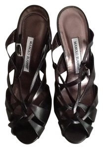 Manolo Blahnik Manolo Manolo Strappy High Heel With Heels Manolo With Heels Manolo Black Sandals