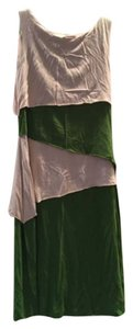 Cynthia Rowley short dress Green/cream on Tradesy