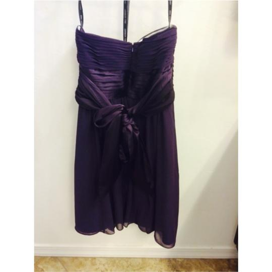 Bill Levkoff Purple Dress