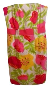 Lilly Pulitzer Preppy Cute Strapless Dress