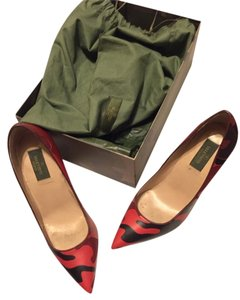 Valentino Red Camo Pumps