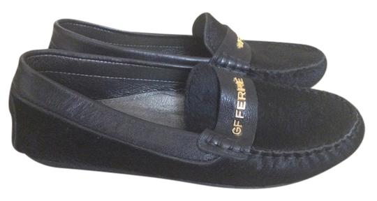 Gianfranco Ferre Kids pony loafers
