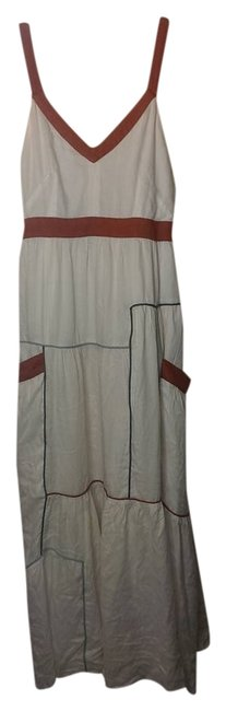 white Maxi Dress by Esley