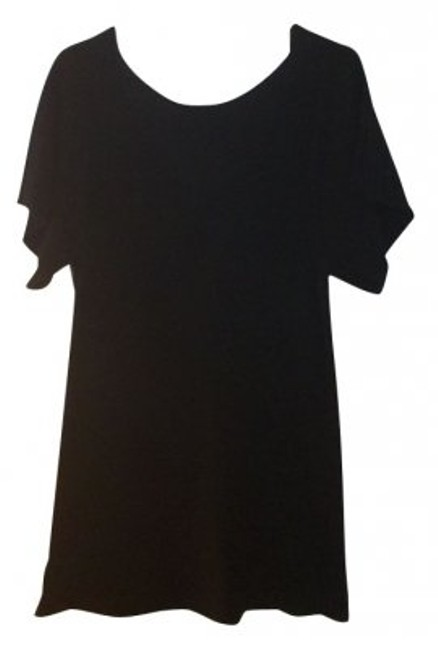 Preload https://item3.tradesy.com/images/lily-mcneal-black-tunic-size-4-s-4622-0-0.jpg?width=400&height=650