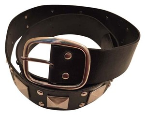 Other Black studded belt