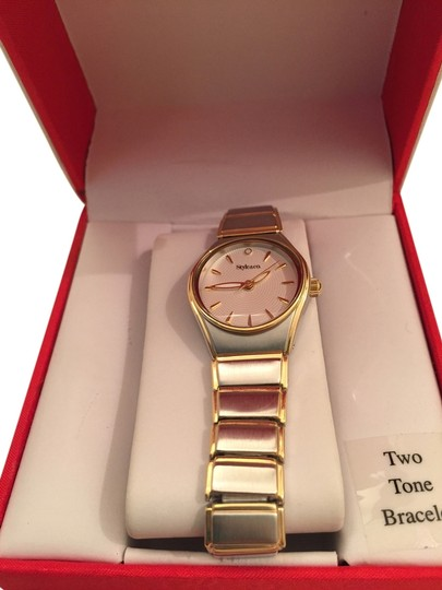 Style & Co Two tone silver and gold watch