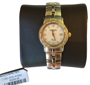 Raymond Weil Raymond Weil Women's Parsifal Two-Tone Mother-Of-Pearl Diamond Dial Watch -2011 purchased