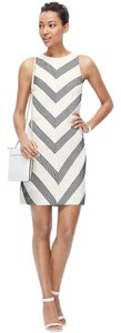 Ann Taylor Chevron Patterned Dress