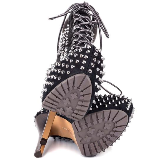 ZiGi girl Suede Black with studs Boots