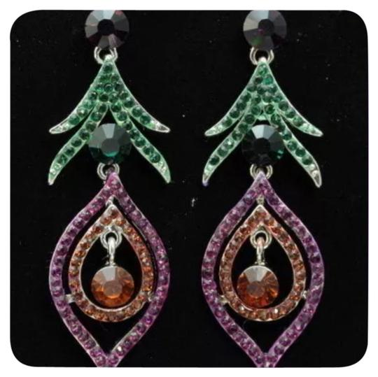 Preload https://item3.tradesy.com/images/multi-color-new-austrian-crystal-dangle-earrings-4622752-0-0.jpg?width=440&height=440