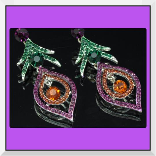 Other New Beautfiful Austrian Crystal Dangle Earrings